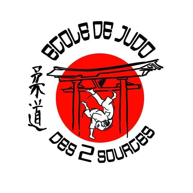 Logo ECOLE DE JUDO DES 2 SOURCES